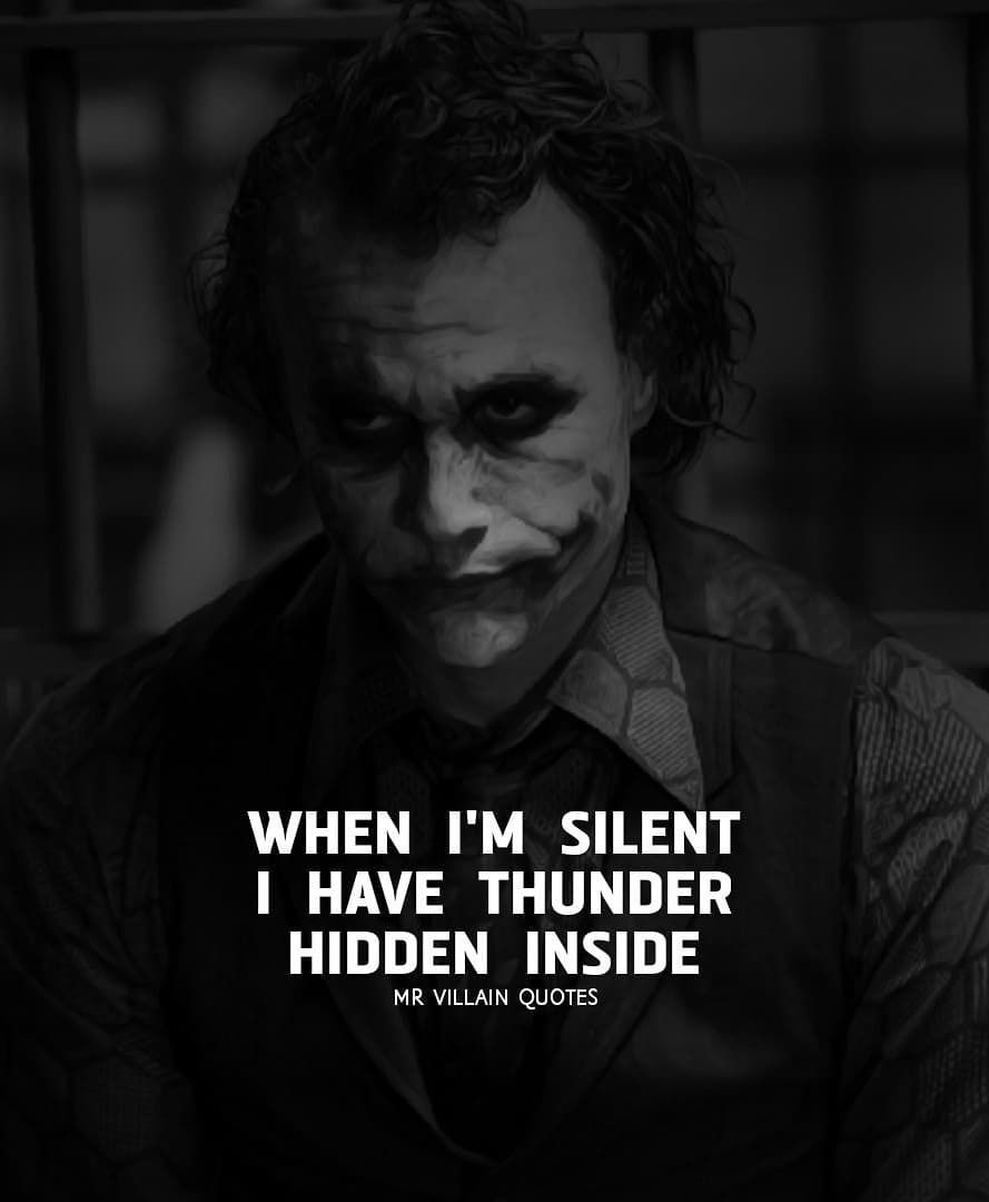 882 Likes, 3 Comments Joker Quotes (thejokersquote) on