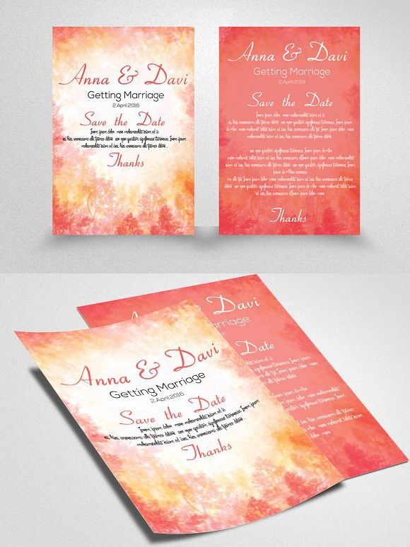 Invitation Flyer Template Flyer template, Romantic fonts and - invitation flyer template