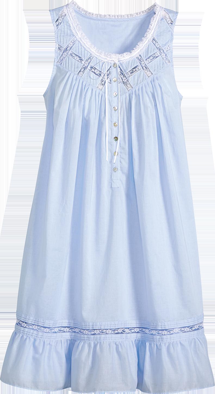 8004c11158 Eileen West Moonlight Sonata Short Cotton Nightgown in 2019