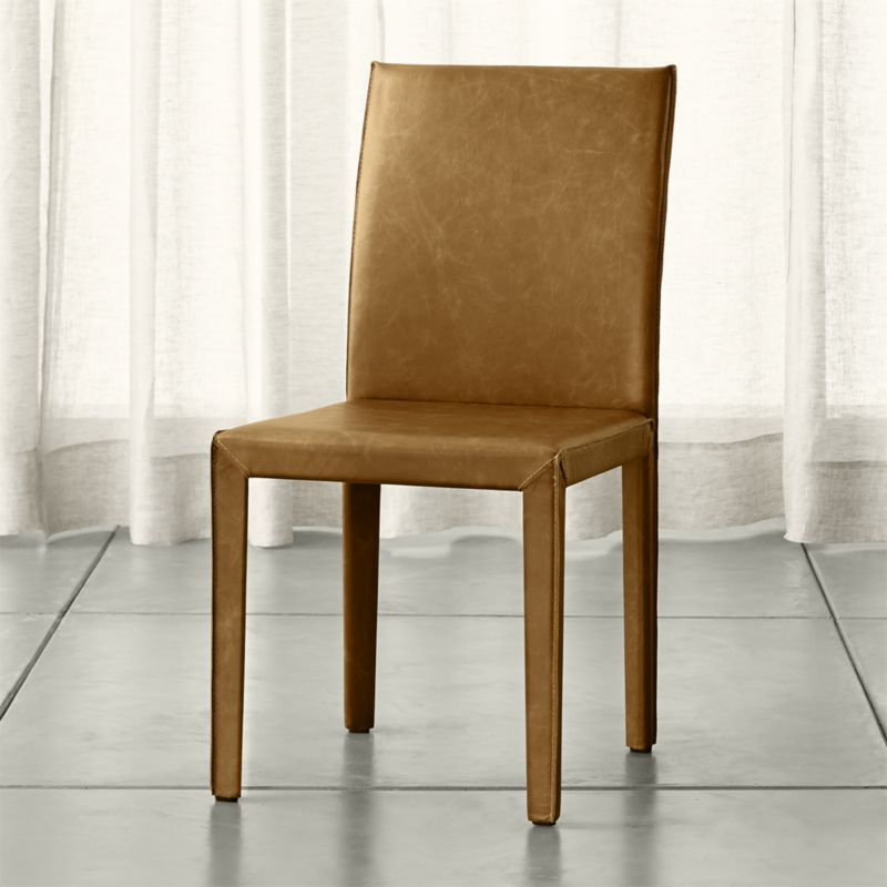 Folio Sienna Topgrain Leather Dining Chair  Chairs Online Delectable Barrel Dining Room Chairs Inspiration
