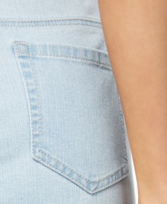 Style & Co Petite Cuffed Capri Jeans, Created for Macy's - Blue 16P