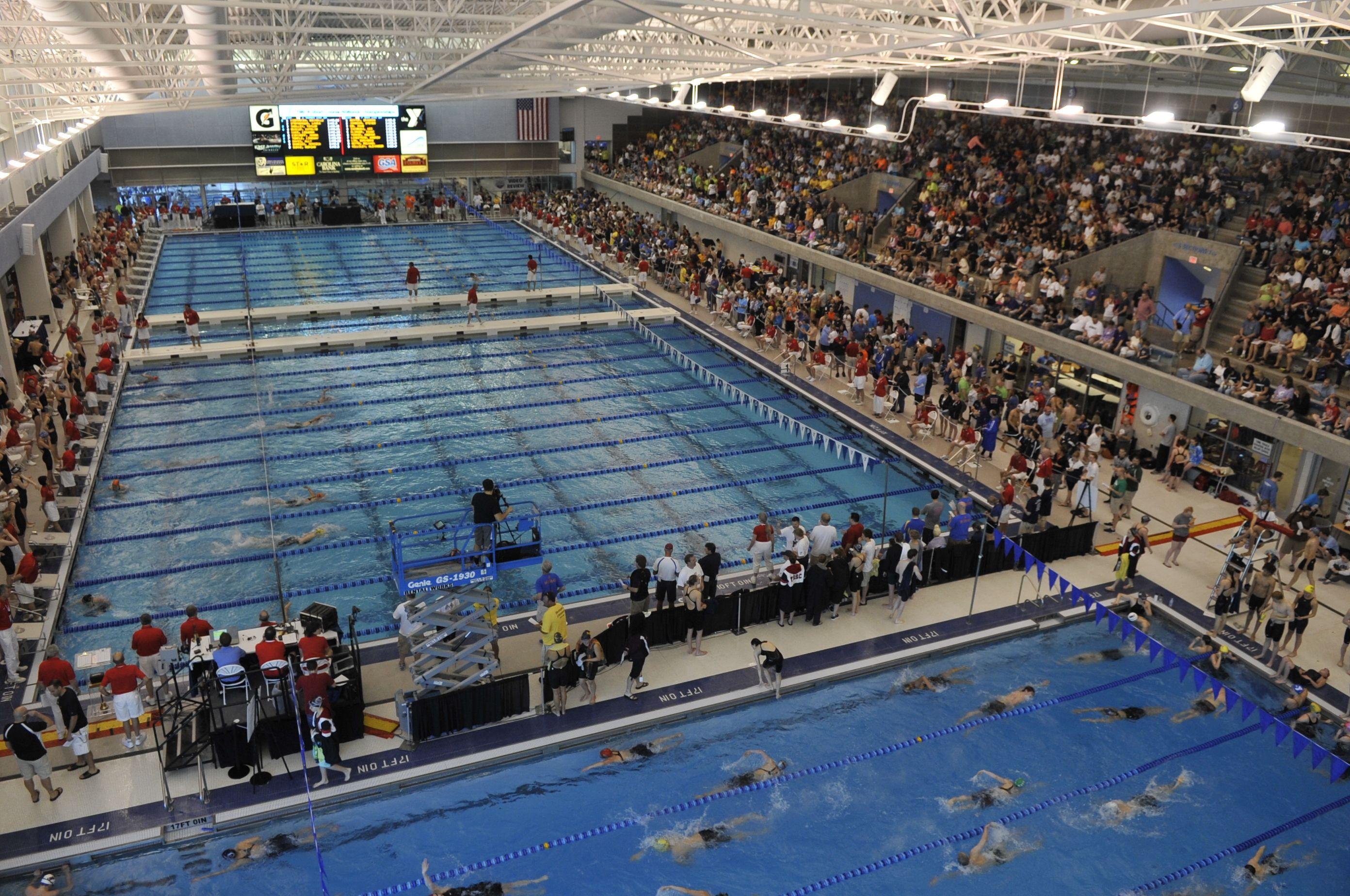 Ymca Swimming Event At The Greensboro Aquatic Center Swim Meet Sport Event Ymca