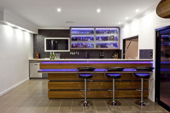 Contemporary Home Bar Design Contemporary Home Bar Design