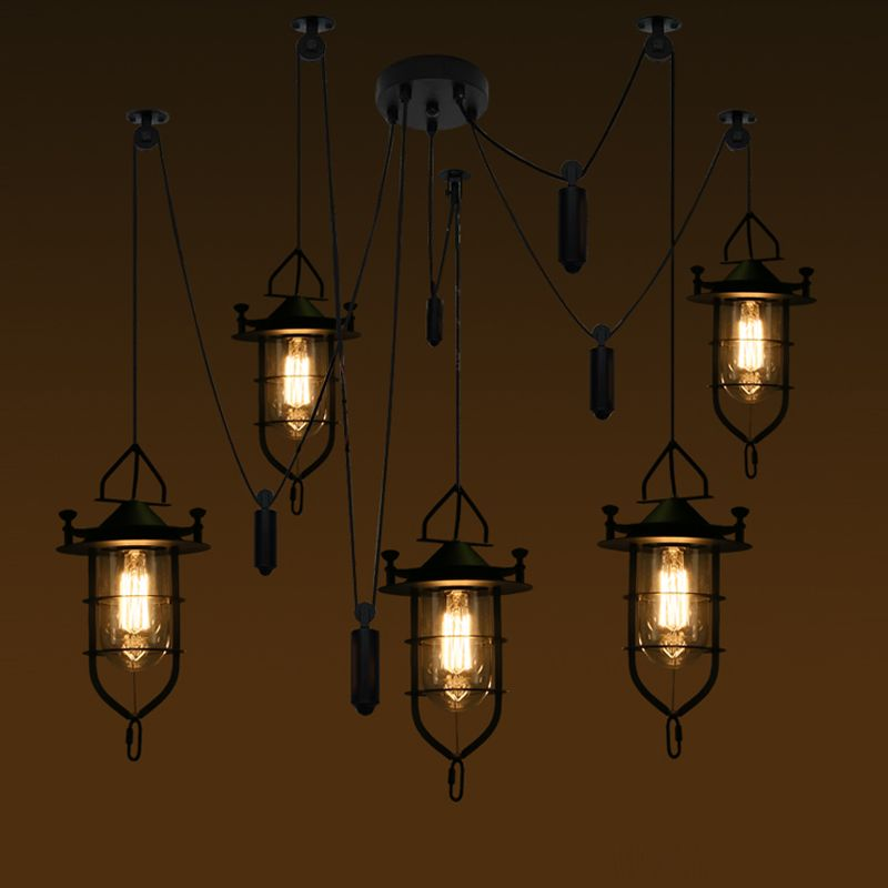 Hanging Bar Lights Home Interior Lighting Luxury Lamp Shades Led