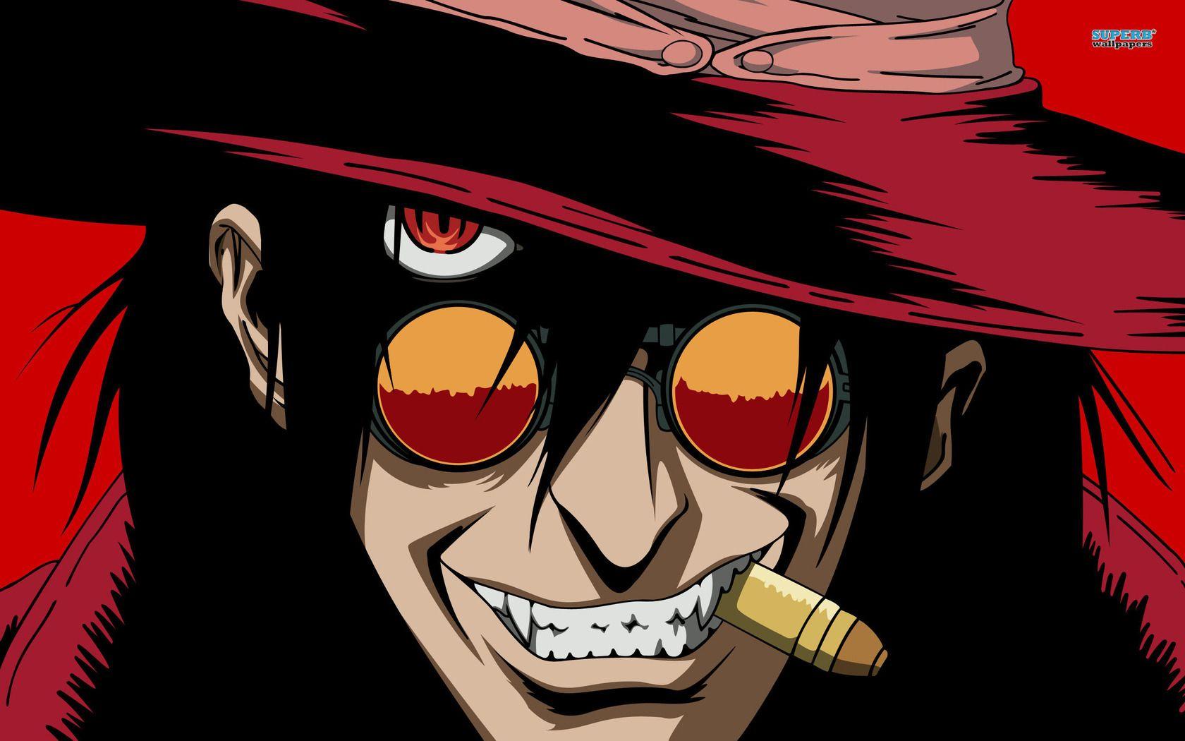 Download Alucard Hellsing Anime Wallpaper 1680x1050