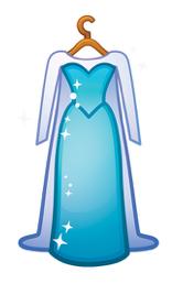 Elsa S Dress As An Emoji Drawing By Disney Frozen Emoji Drawing Disney Princess Elsa Disney