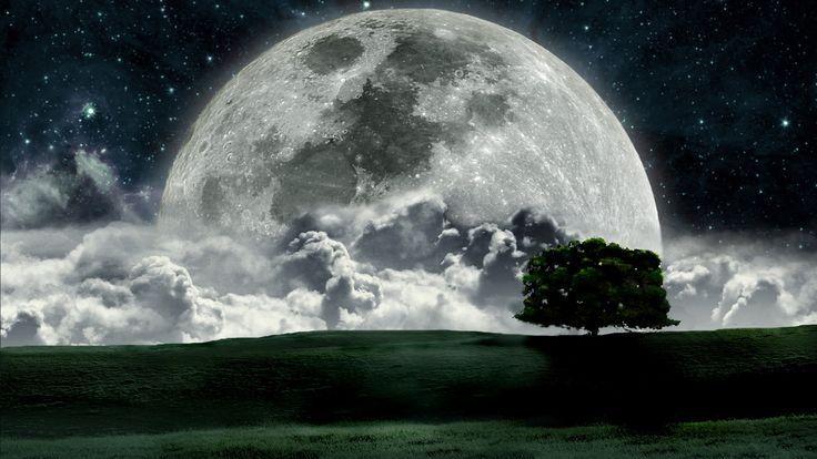 10 Cool Space Desktop Wallpapers Beautiful Moon Beautiful Nature Moon