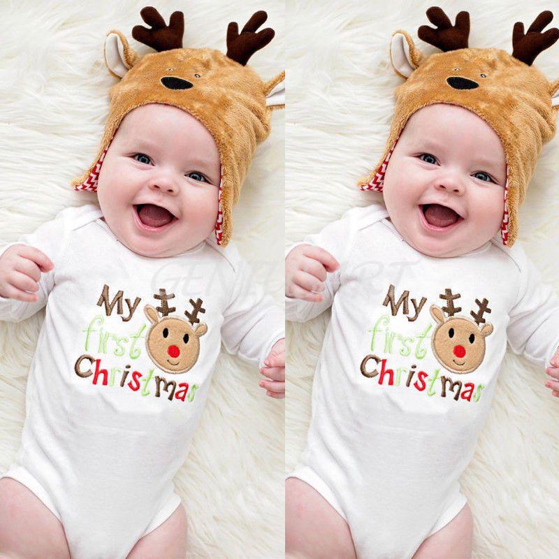 411974e78fa  3.78 - Newborn Infant Baby Boys Girls Cotton Romper Jumpsuit Bodysuit  Clothes Outfits  ebay  Fashion