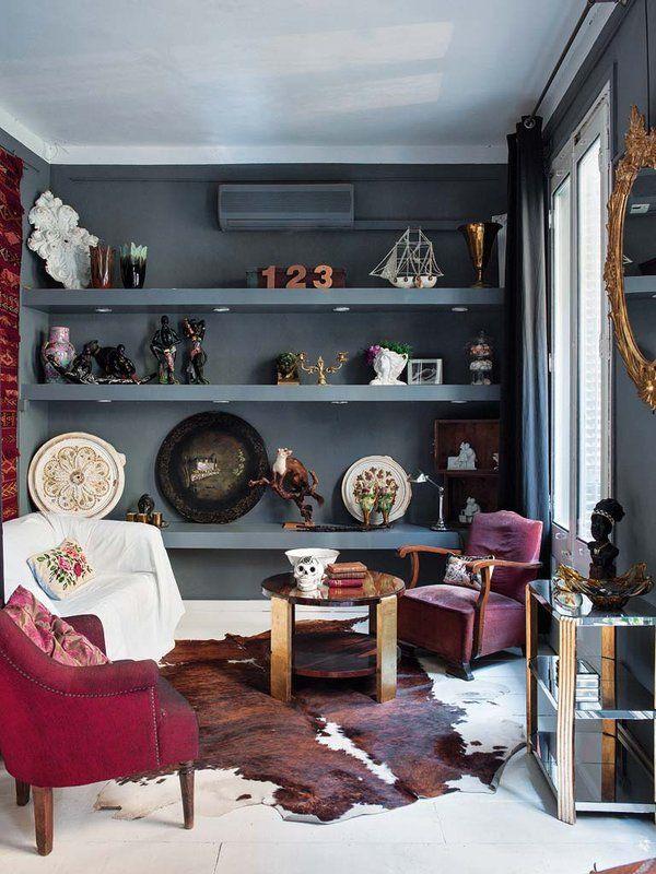 Un piso del XIX con emocionante estilo mix