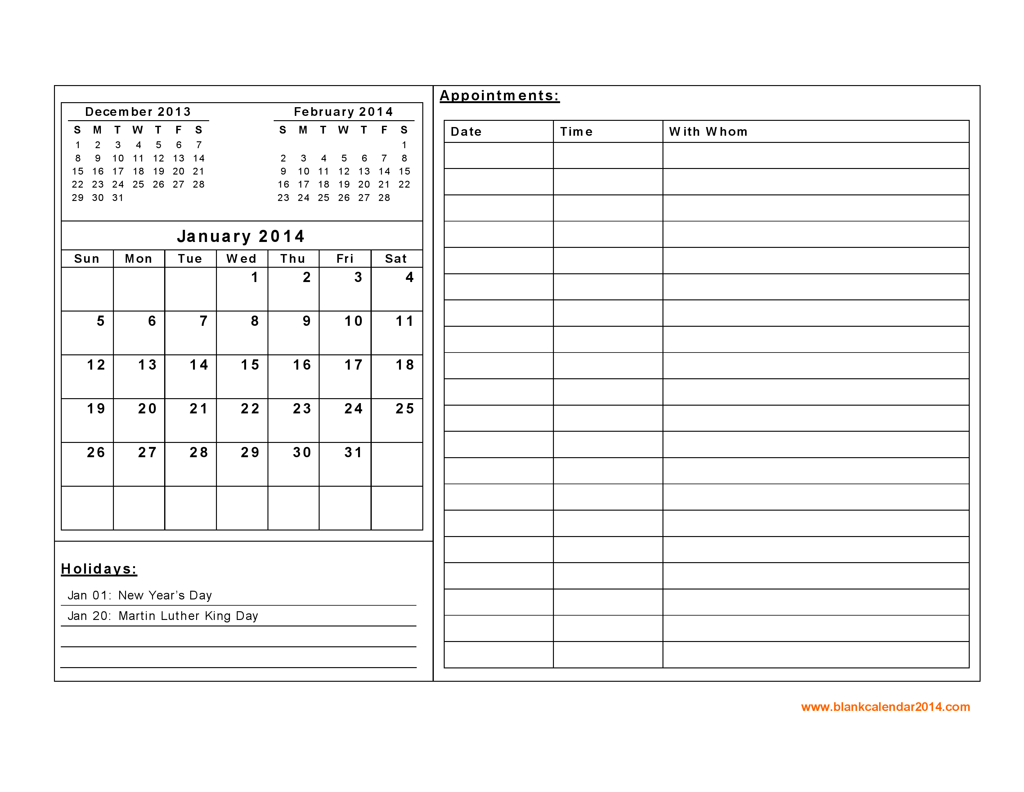 Free Printable Daily Calendar With Notes Google Search Ideas For
