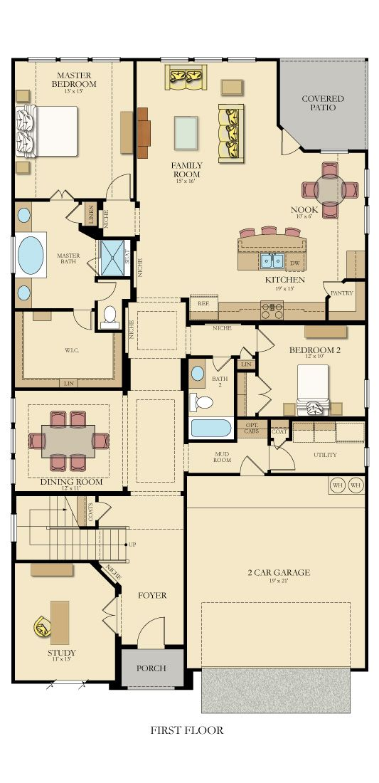 Edmonton New Home Plan In Willow Grove New House Plans House Plans New Homes For Sale