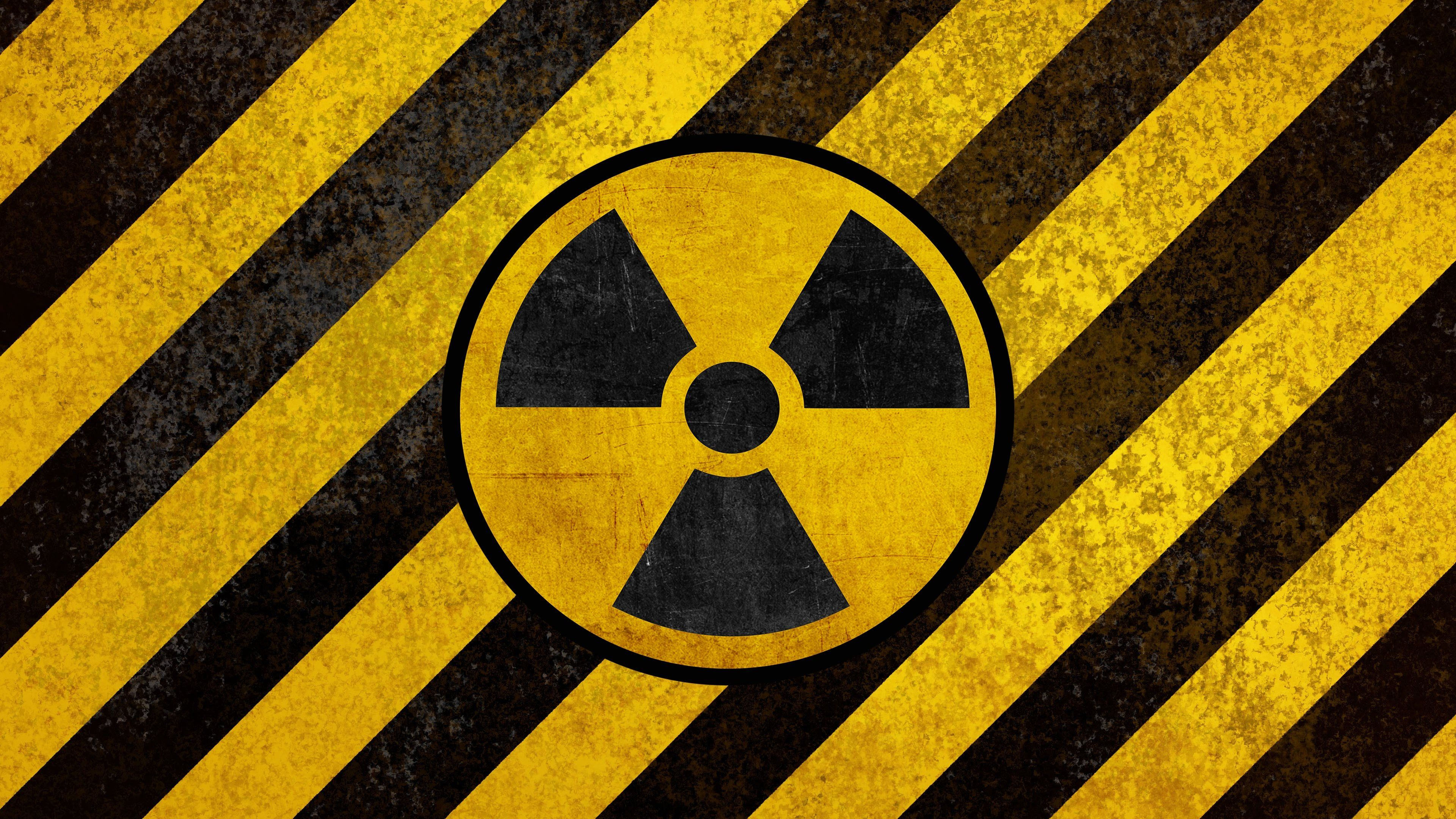 Warning Sign D and CG Abstract Background Wallpapers on