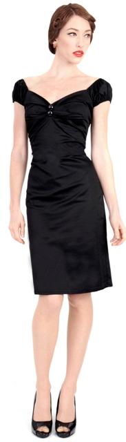 Dolores Plain Black-mekko - NAISET - Mekot - Underground Store   Piercing  Studio 5a108ff2cb