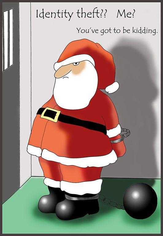Christmas In Prison.Funny Christmas Card Santa In Prison Christmas Printables