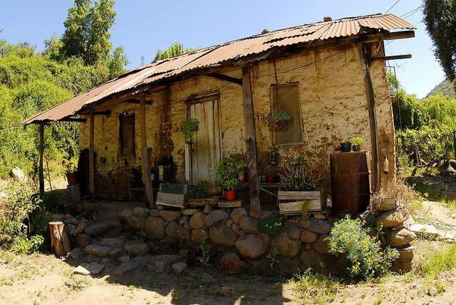 Vieja Casa Coya O Higgins Chile House Styles Outdoor Gazebo