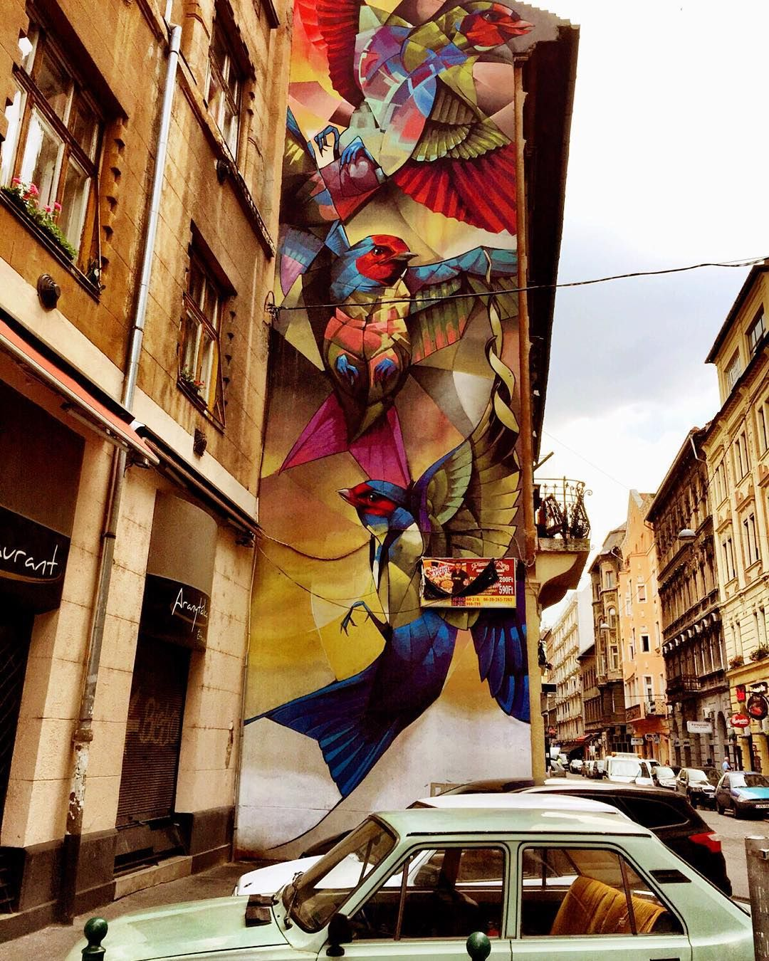 STREET ART A BUDAPEST - Guida con foto ai quartieri e le ...