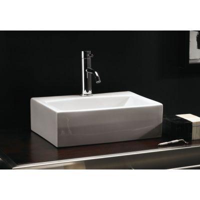Bathco Spain Gerona Umywalka 42 5x30 5 Cm Prostokatna Biala 0037 Home Decor Sink Decor