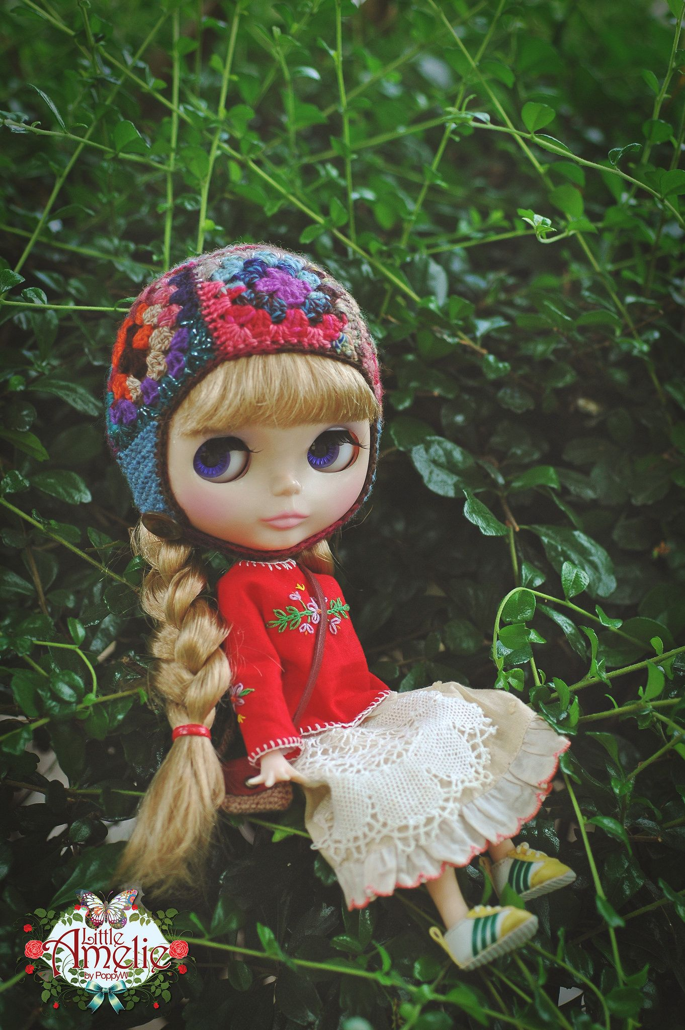 https://flic.kr/p/vSrVgg | Hello! have a nice day <3 | Model : Elli-rose Outfits : Helmet -Megipupu, Blouse - LittleAmelie, Skirt - I Have Wings