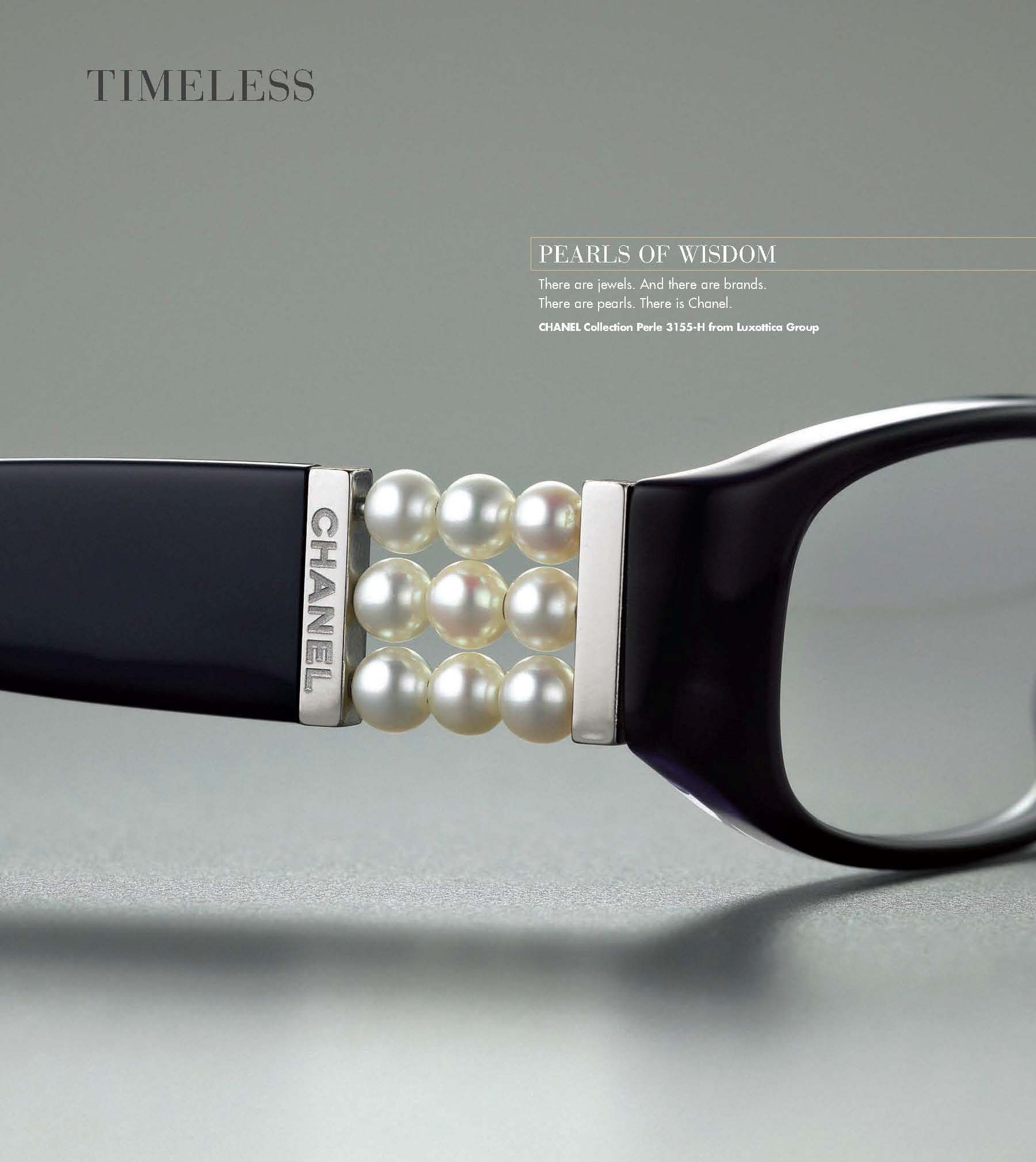Chanel Pearl Eyeglasses Classic, Glasses and Chanel glasses