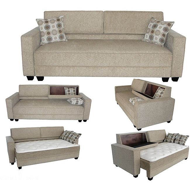 liSet includes Sofa Mattress pad and two Pillows lili