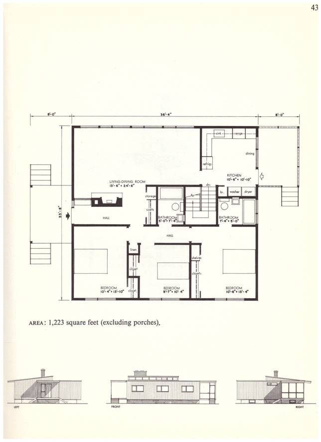 There\'s lots to learn from these small house plans from the \'60s ...
