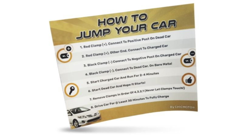 Free Sticker! How To Jump Your Car! Free stickers, Give