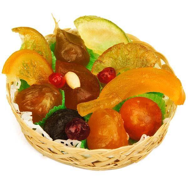 Corbeille de fruits confits no l 2015 10 id es cadeaux 100 no l pinterest corbeille de - Corbeille a fruits 3 etages ...
