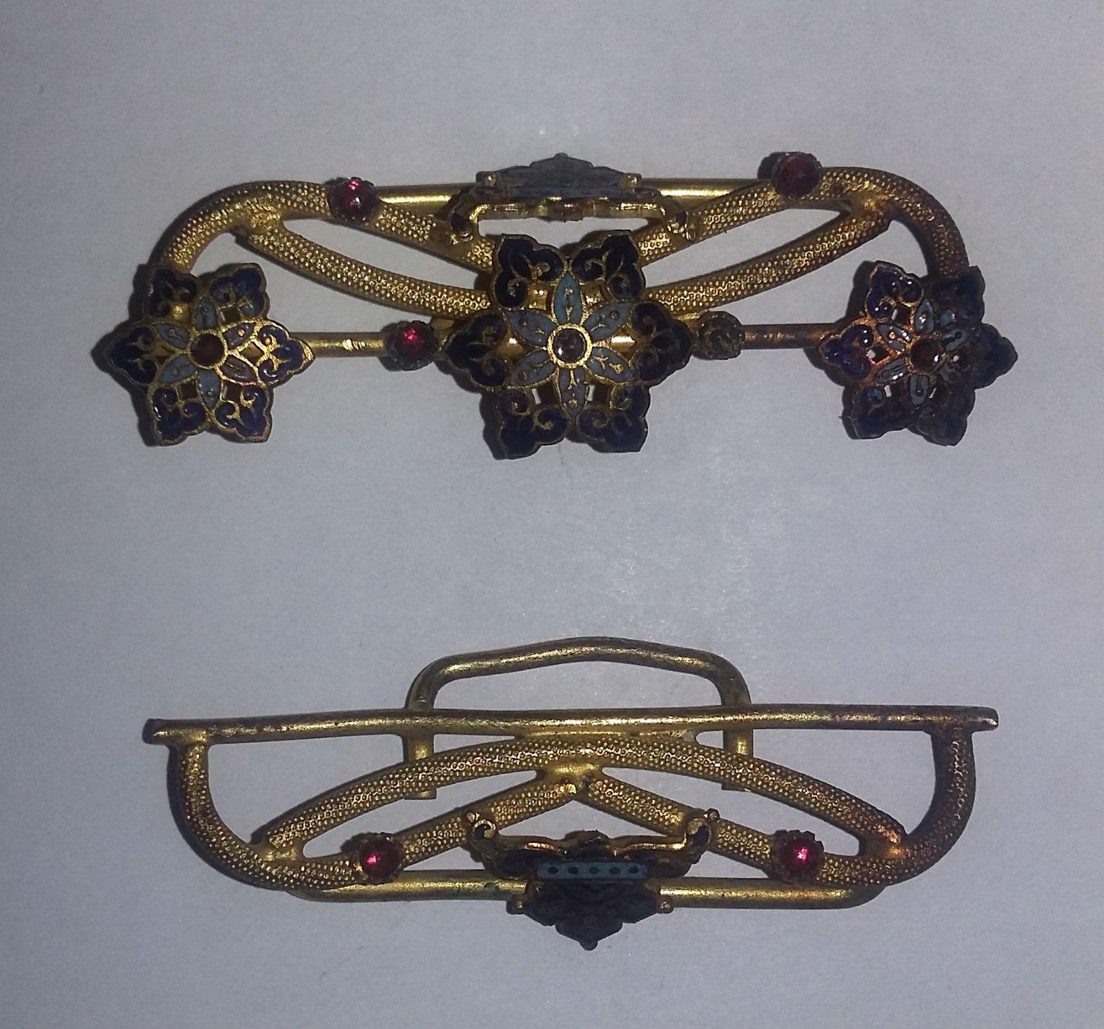 6ae797c46851 Boucle de Ceinture Ancienne émaillée   ceinture   Pinterest