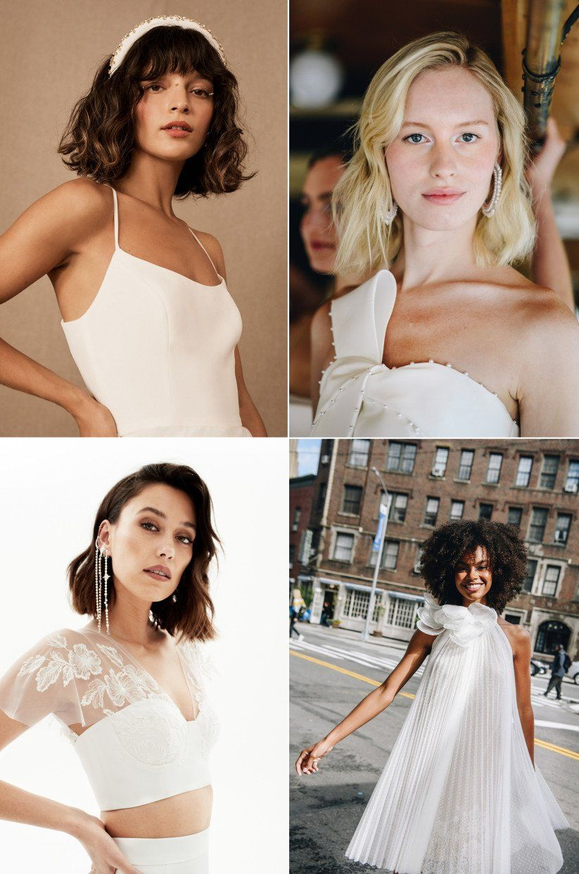 The 7 Wedding Hair Trends We Re Watching For 2020 Wedding