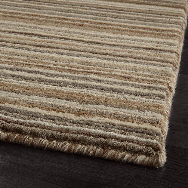 Iverson Birch Wool 9 X12 Rug Crate And Barrel Rugs Wool Rug Crate And Barrel