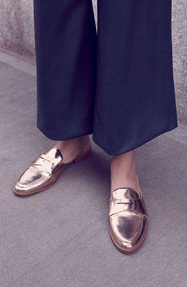 287a2494d6a Main Image - Louise et Cie Dugan Flat Loafer Mule (Women)