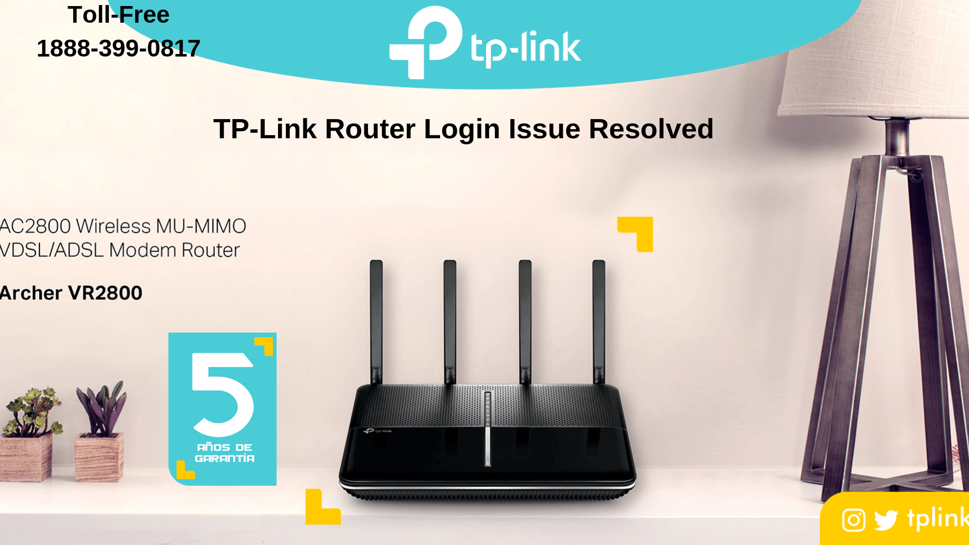 TP-link router is not working properly according to your work then