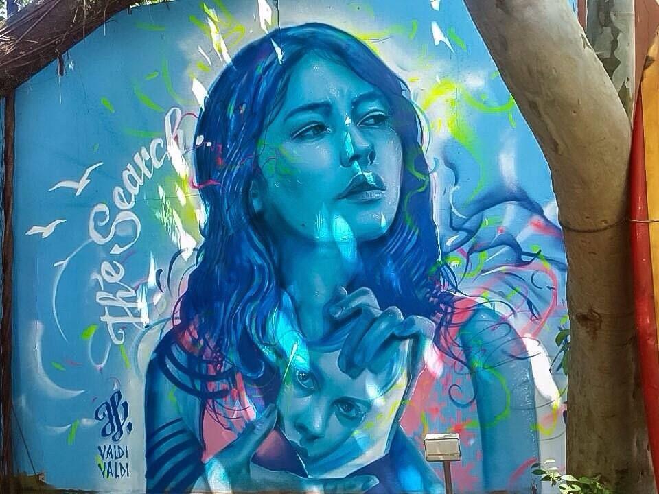 Entrevista con el brasileño Artista callejero Valdi Valdi - Arte en la calle 360