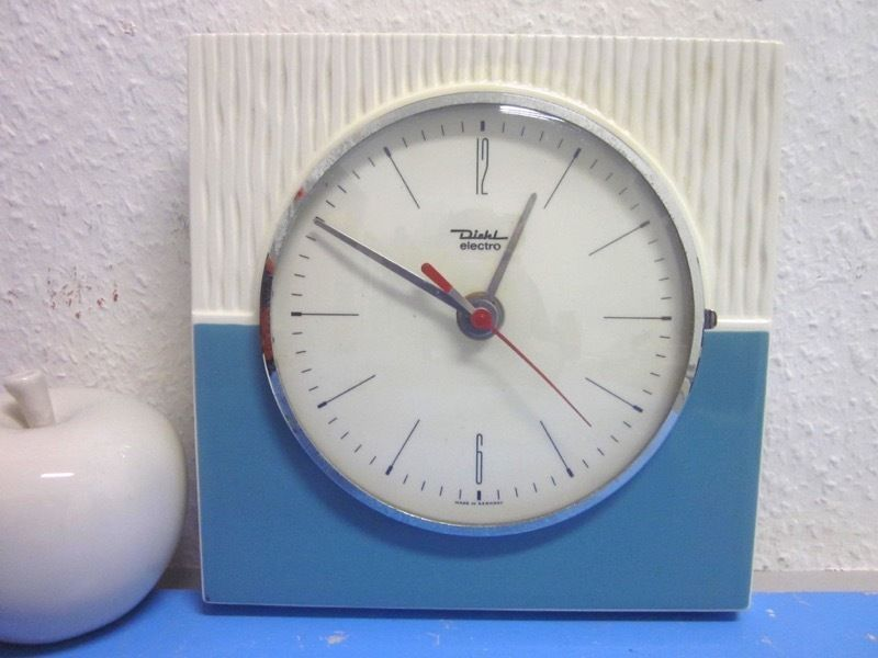 Wanduhr Badezimmer ~ Diehl electro küchenuhr wanduhr keramik er er selten in my