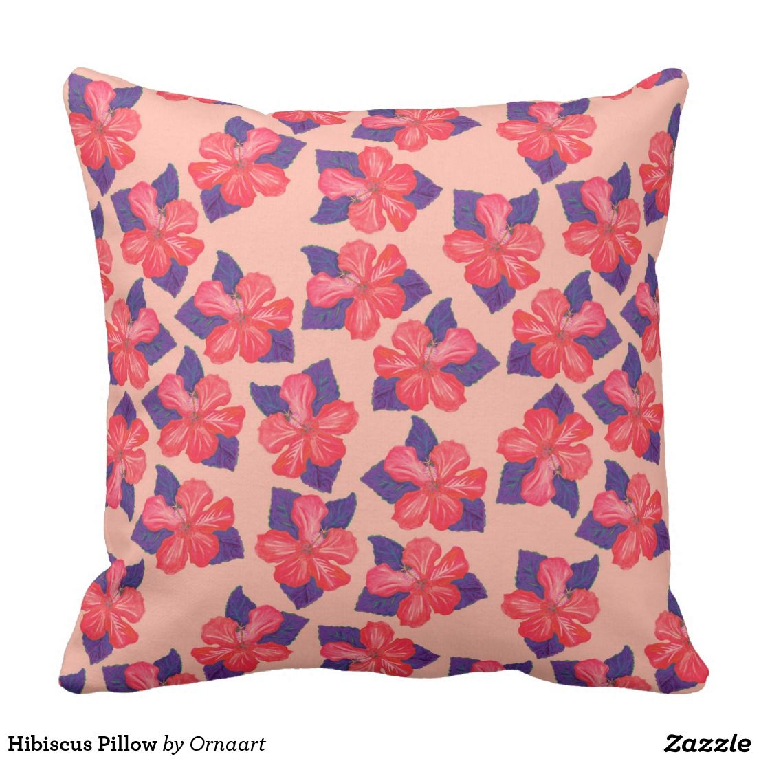 Hibiscus pillow hibiscus and pillows