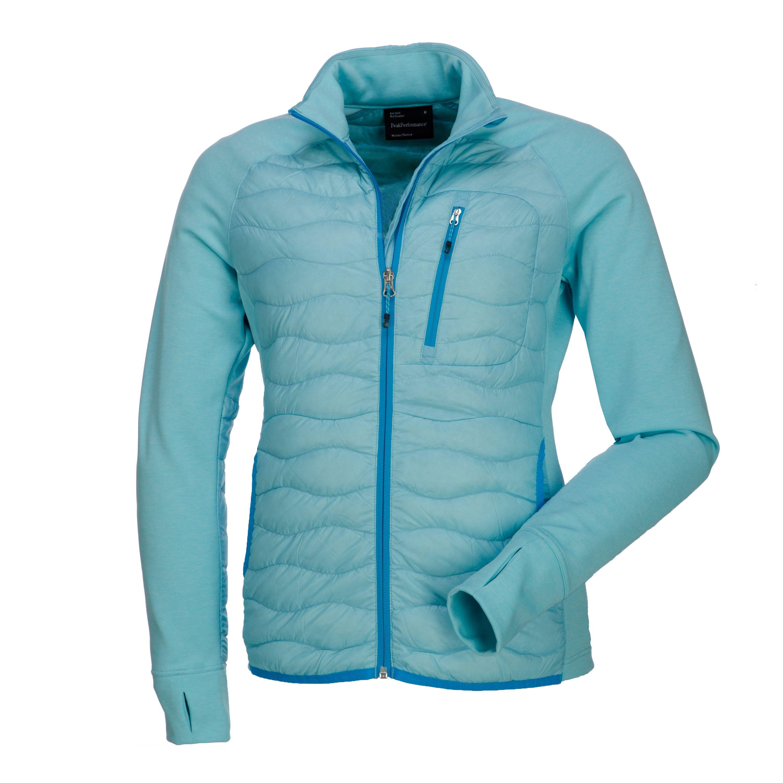 Peak performance ladies vest W Helium Hybrid J Caribb blue Peak performance  dames hiking vest insulation