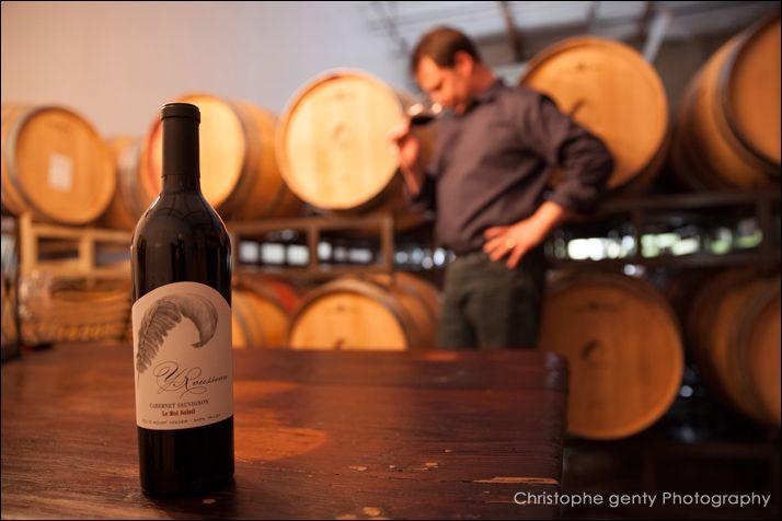 Y Rousseau Wines  Napa, California - Christophe Genty Photography