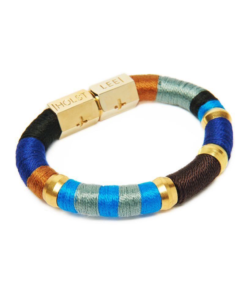 Holst + Lee Baby Blues Bracelet