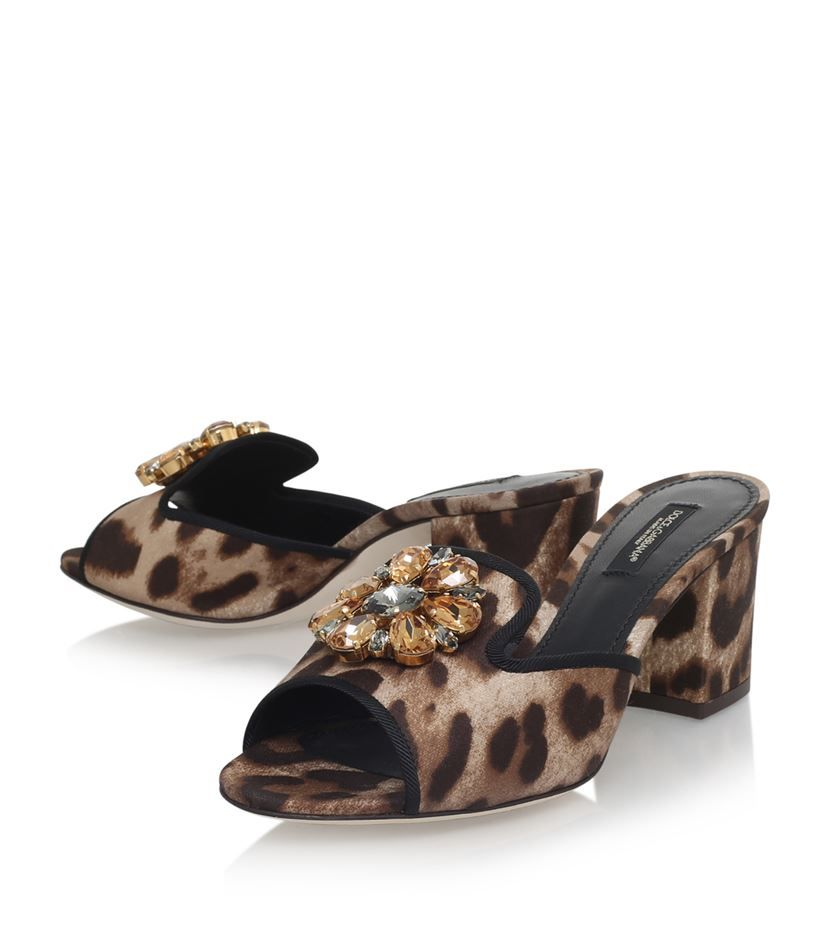 774b534ee667 Dolce   Gabbana Bianca Jewel Slides 60