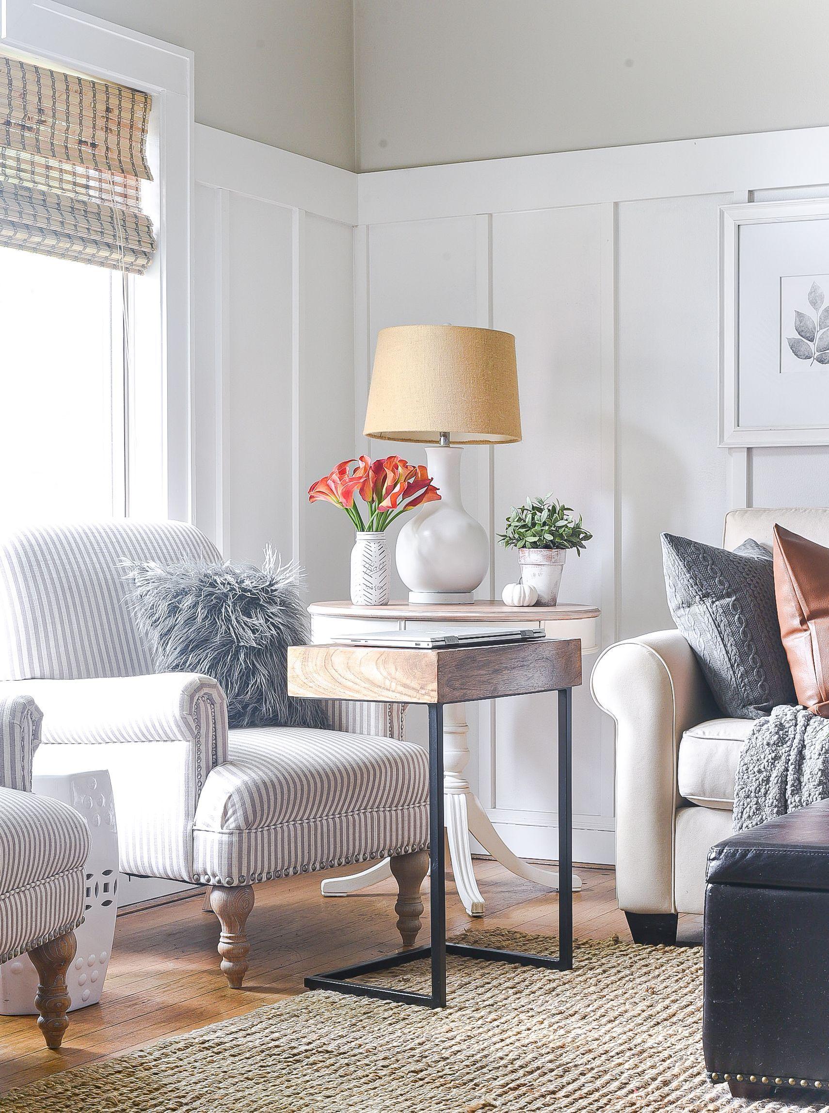 Fall Home Tour Boho Inspired Living Room It All Started With Paint Living Room Inspired Living Autumn Home