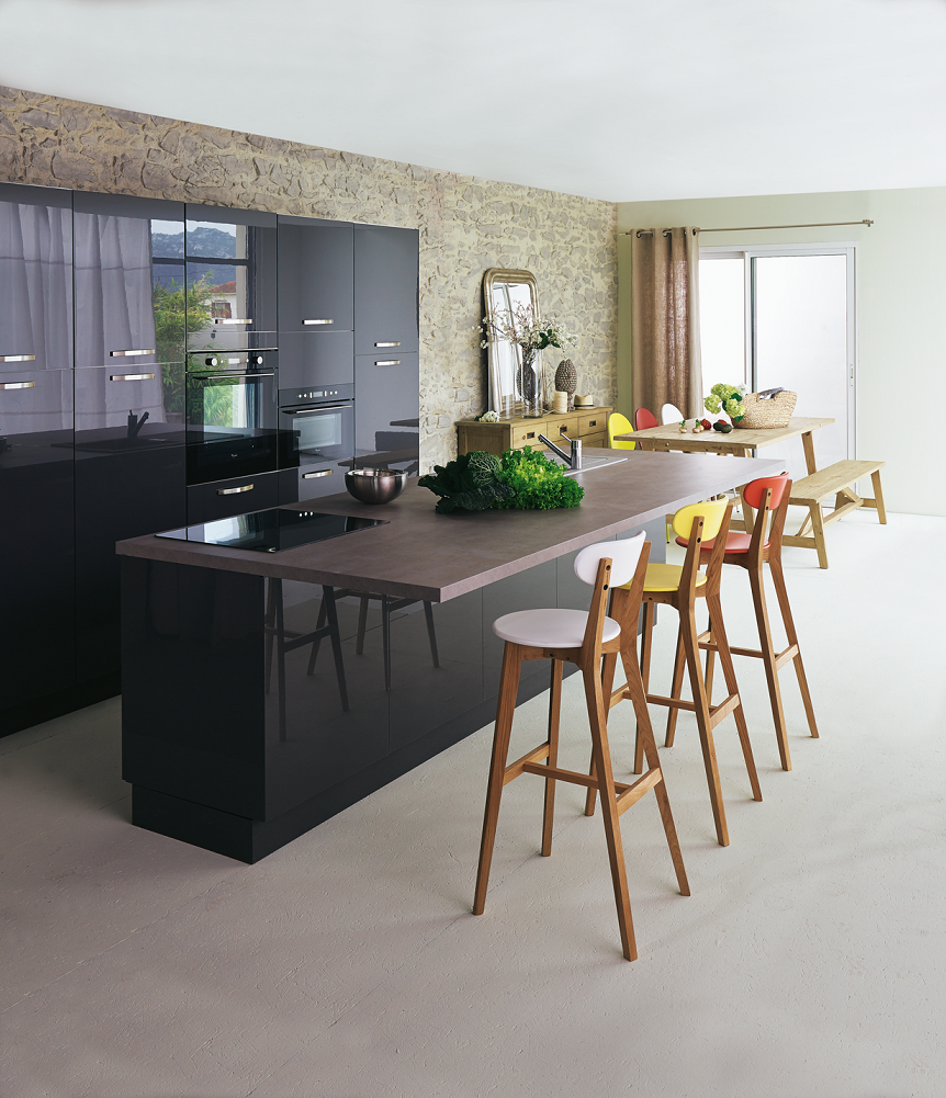 tabouret ilot cuisine alin a. Black Bedroom Furniture Sets. Home Design Ideas