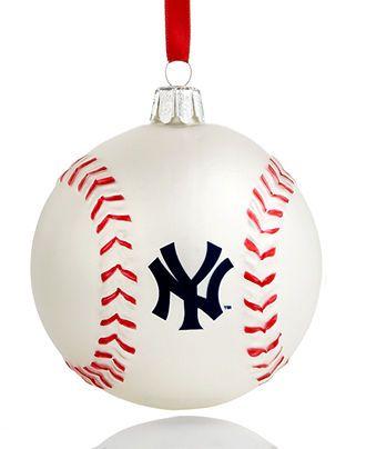 baseball kurt adler christmas sports ornament