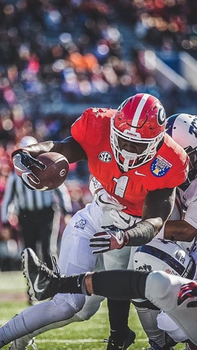 timeless design 4733c 88b4f Georgia Bulldawgs Sony Michel | ❤️ UGA Board #1 | Georgia ...