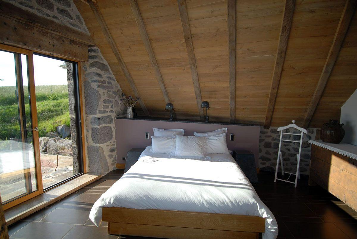 chambres d'hôtes laguiole - aubrac : chambre du jars | maison