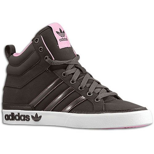 Womens Adidas Top Court Mid Classic Sneakers New, Brown Pink Sale**