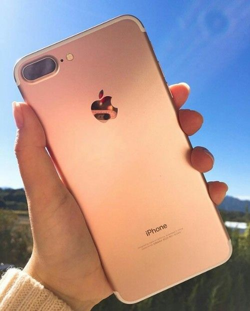 d145233a312 plus, rose gold, and iphone 7 image #iphone7plus, | forros para ...