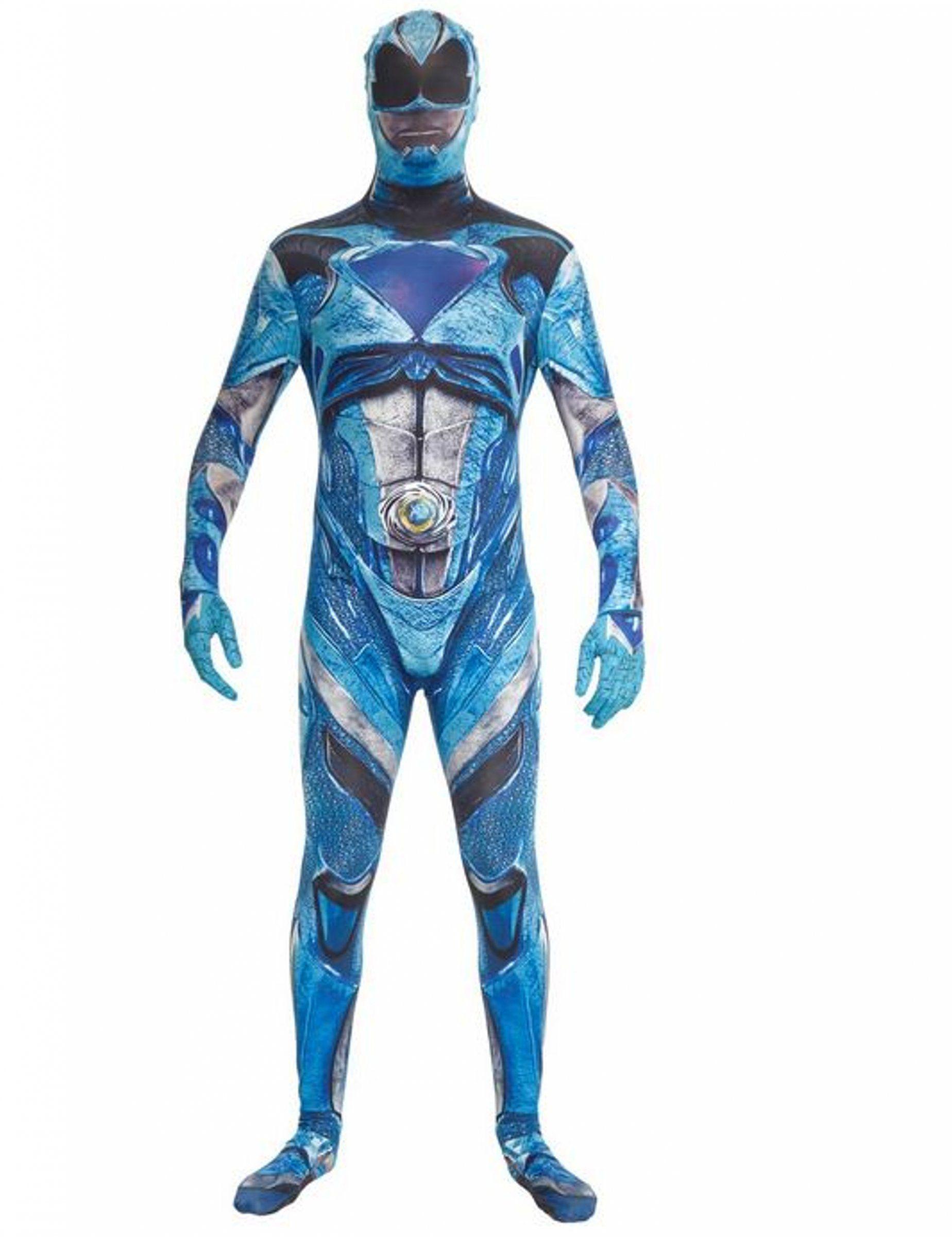 Disfraz Azul Power Rangers Deluxe Adulto Morphsuits Tiendas