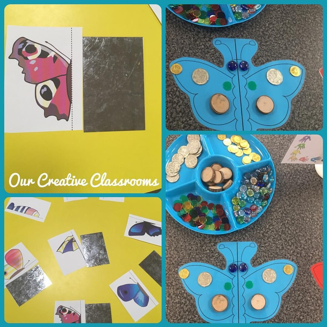 Symmetry Activities Using Mirrors For Reflective Symmetry
