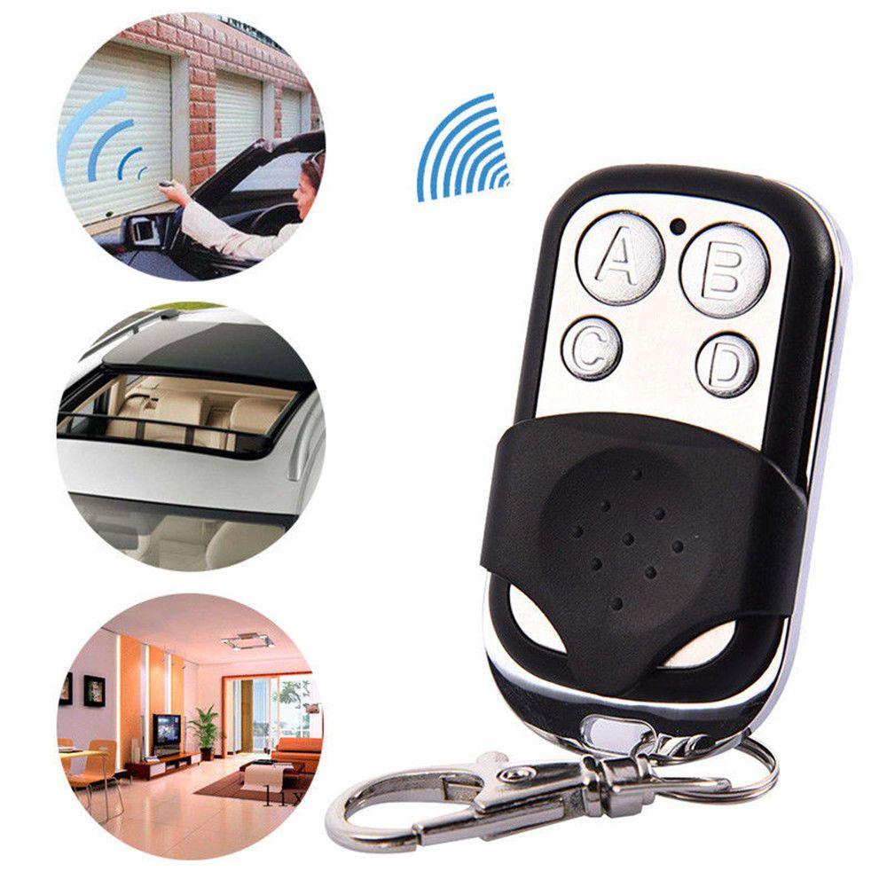 Universal 4 Button Gate Garage Door Opener Remote Control 433MHZ Rolling Code