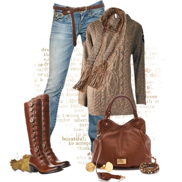 """""""Beautiful in Brown"""" by johnna-cameron on Polyvore"""